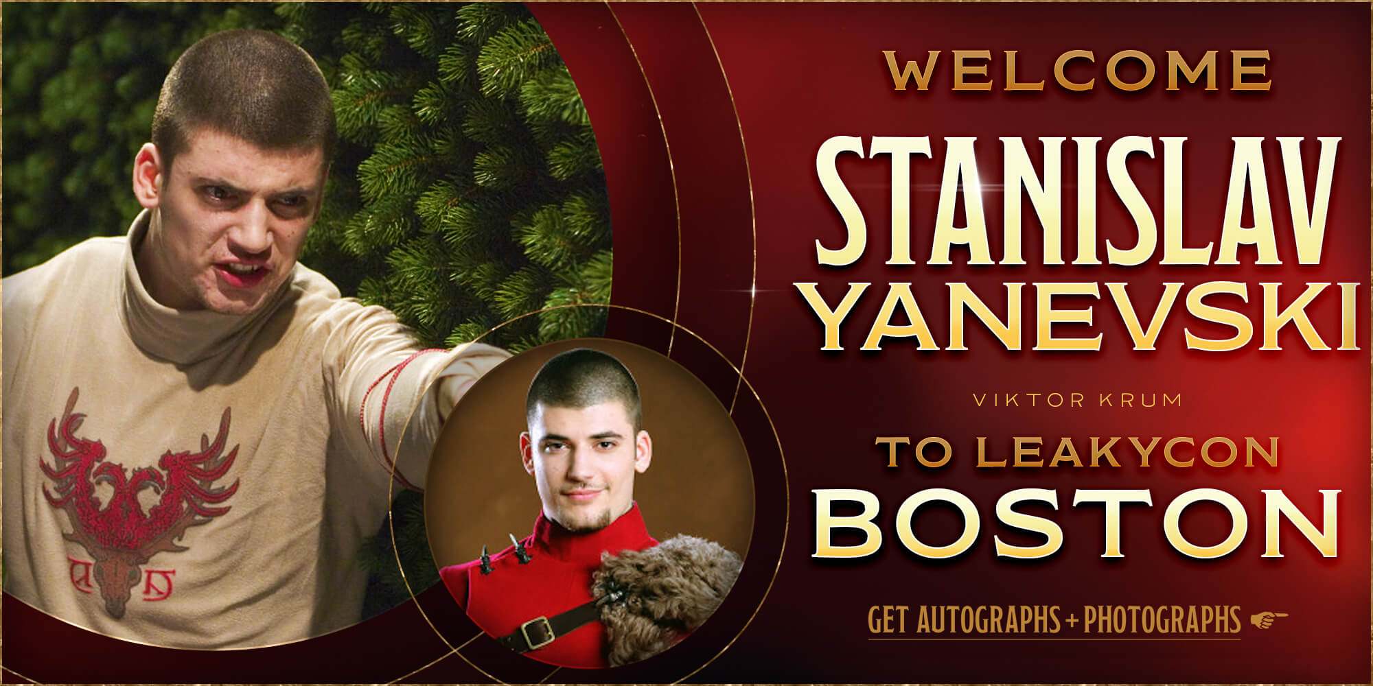 Meet Stanislav Yanevski at LeakyCon Boston