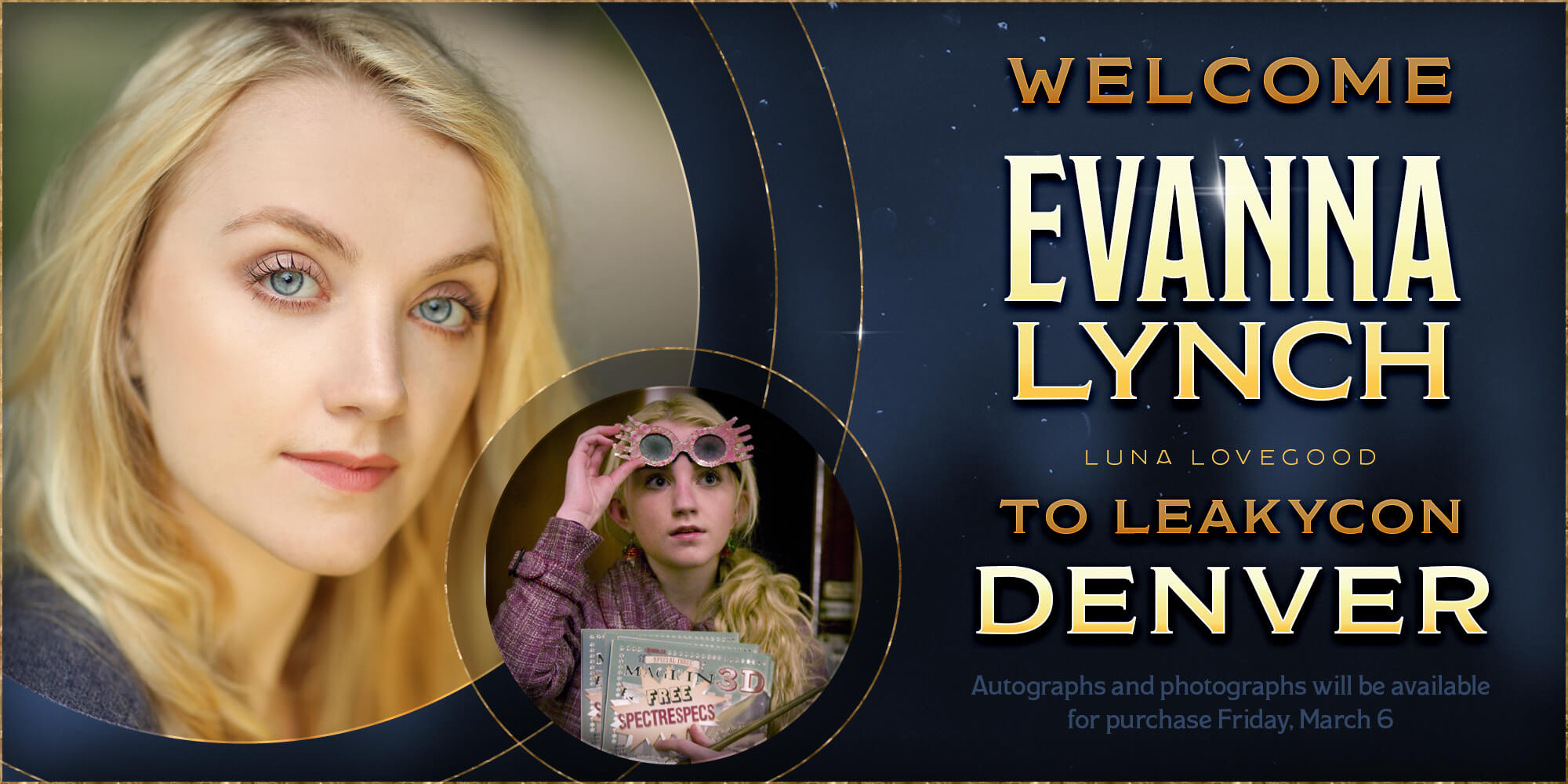 Welcome Evanna Lynch to LeakyCon Denver!