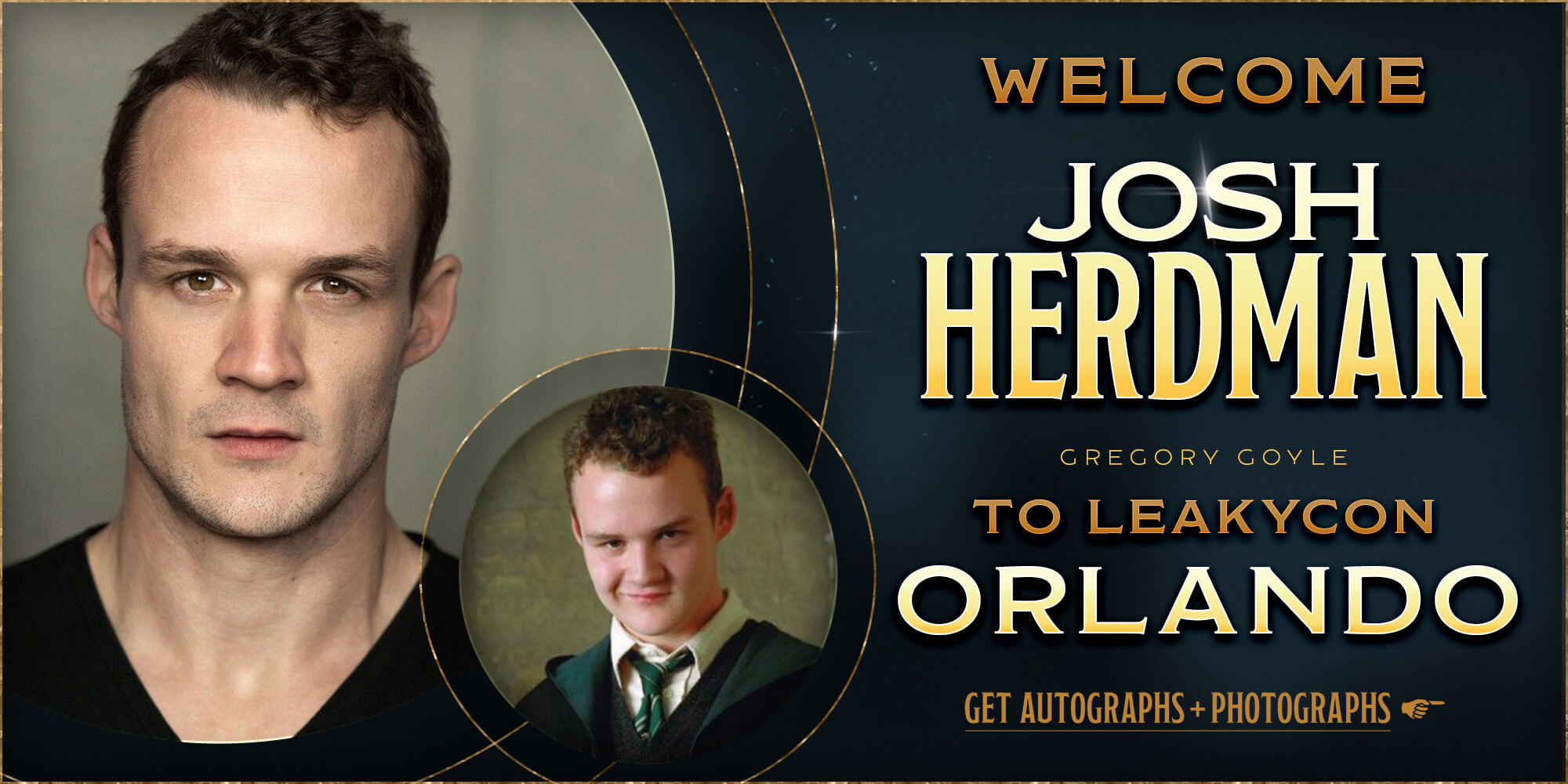 Welcome Josh Herdman to LeakyCon Orlando!