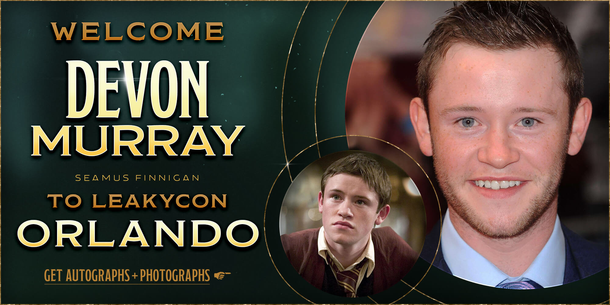 Welcome Devon Murray to LeakyCon Orlando!