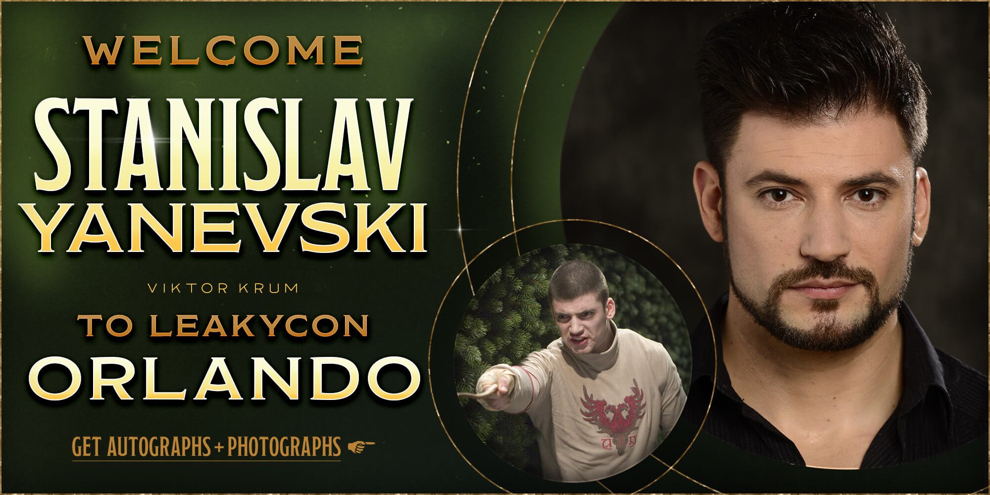 Welcome Stanislav Yanevski to LeakyCon Orlando!