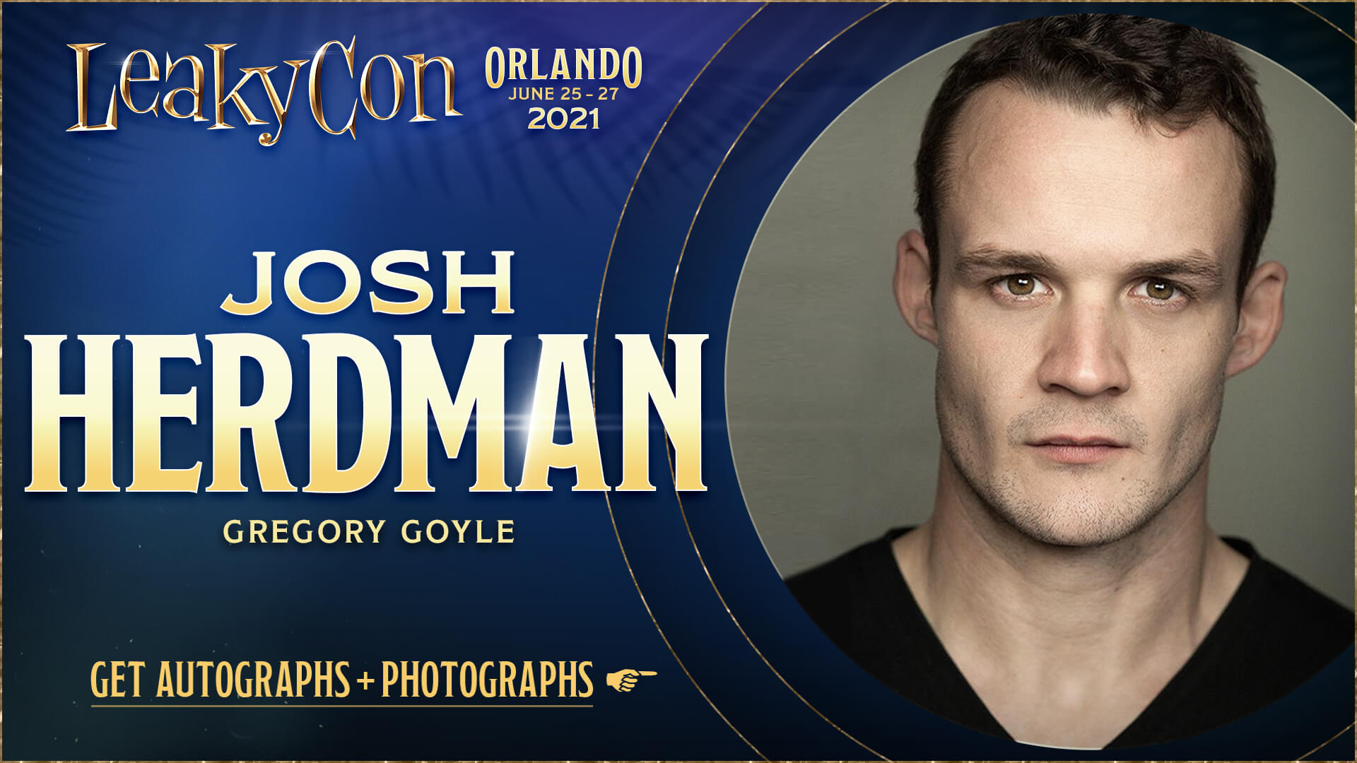 Welcome Josh Herdman to LeakyCon Orlando 2021!