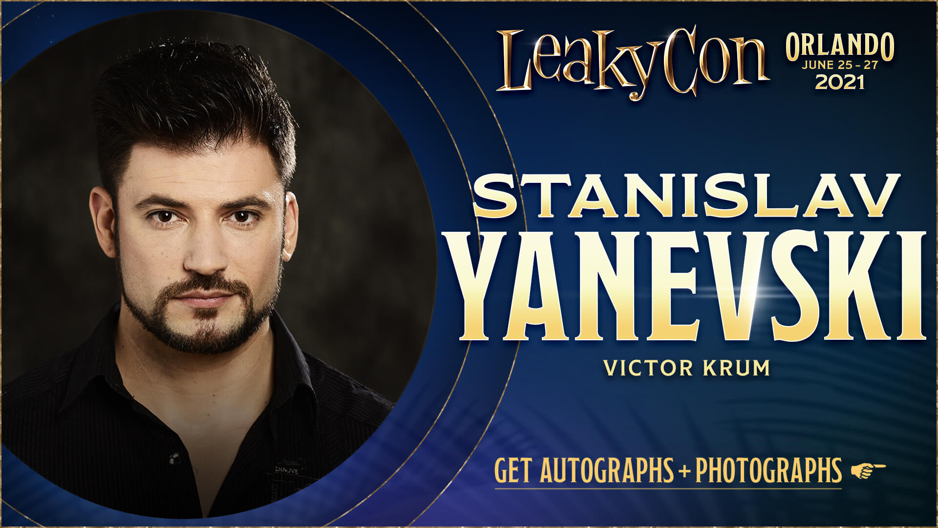 Welcome Stanislav Yanevski to LeakyCon Orlando 2021!