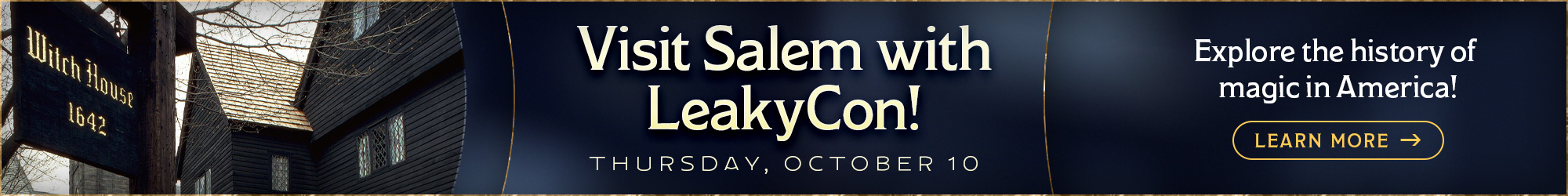 LeakyCon Salem Day Trip
